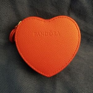 Limited edition Pandora Red Leather Case